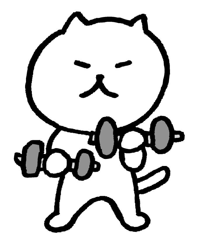 筋肉が減る