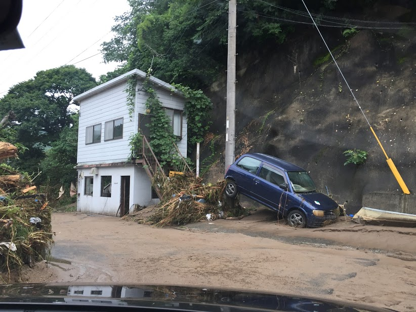九州日田の豪雨