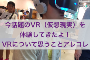 VR(仮想現実)の問題点