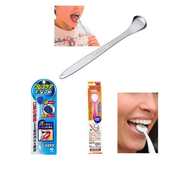 舌の苔落とし 舌磨き